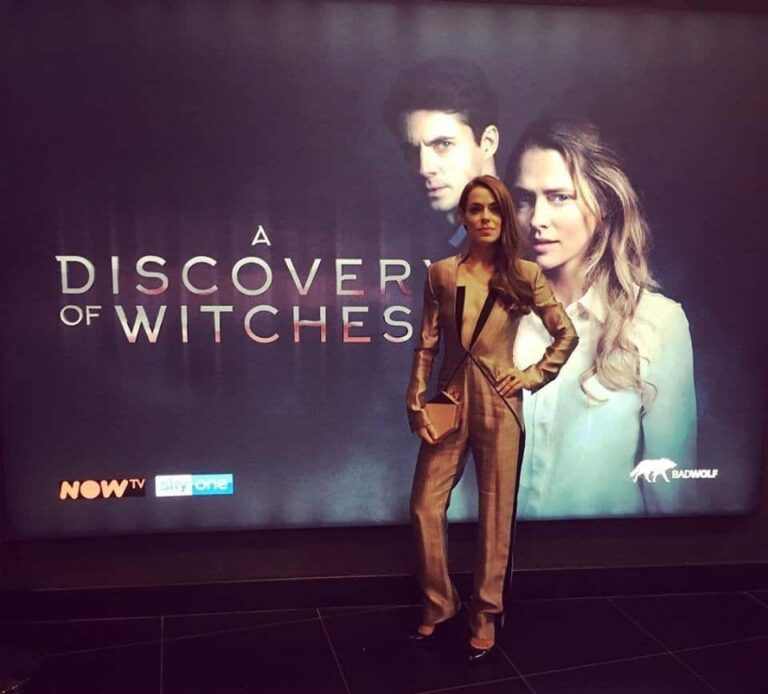 A Discovery of Witches Premiere Chloe Dumas