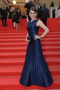 Chloé Dumas à Cannes