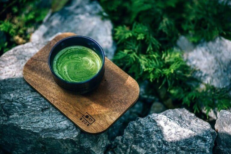 thé matcha green tea