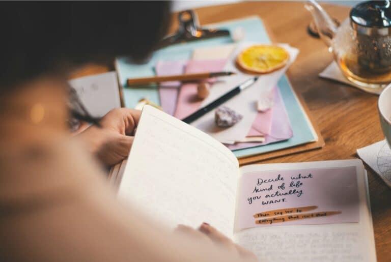lettre à soi-même - letter to yourself